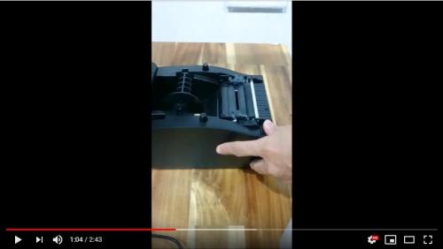 [Video] Hướng dẫn lắp giấy máy in mã vạch Xprinter 350B
