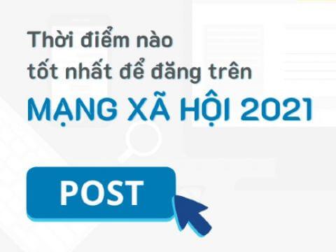 Đâu là thời điểm tốt để đăng bài trên các Mạng xã hội Facebook, Instagram và YouTube? (cập nhật 2021)